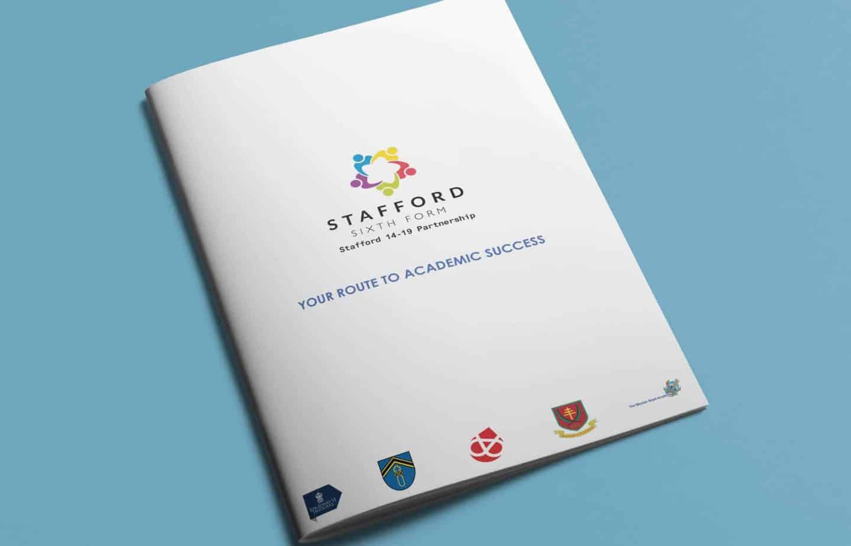Prospectus Design - Cover - Stafford Sixth Form