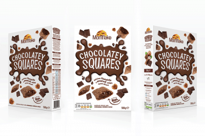 Chocolatey Squares Branding