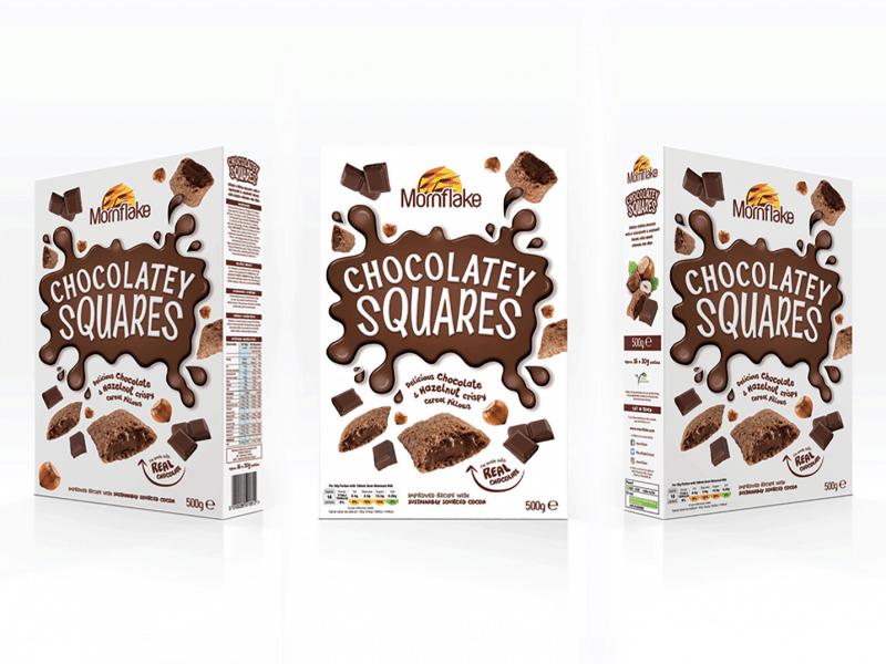 Chocolatey Squares
