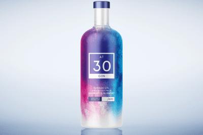 At 30 Gin Branding