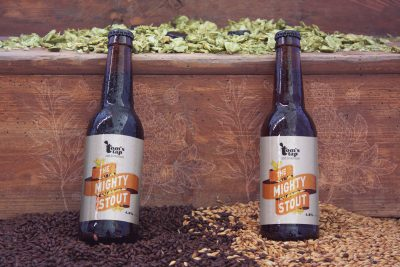 Mornflake Mighty Stout Branding