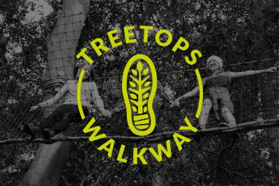 Treetops Walkway Branding