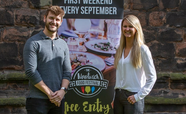 TRCREATIVE gets creative for Nantwich Food Festival