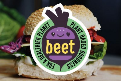 BEET Vegan Burger Bar Branding