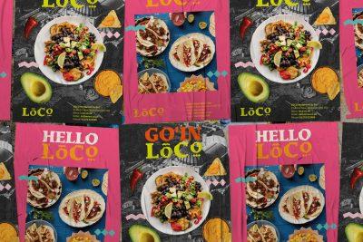 LOCO Mexican Restaurant & Bar Branding